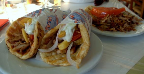 pita gyro best in athens