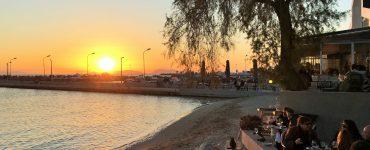 Glyfada Sunset Athens Greece