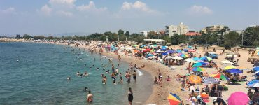 Glyfada Public Beach Athens