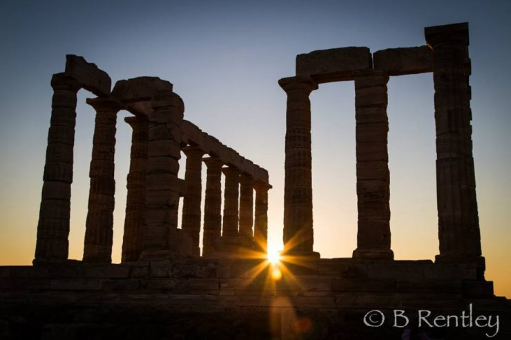 Sounio Sunset | Athens Coast